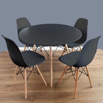 Levné Kulaté jídelní stoly: Skandinávský jídelní stůl kulatý TORSEN I