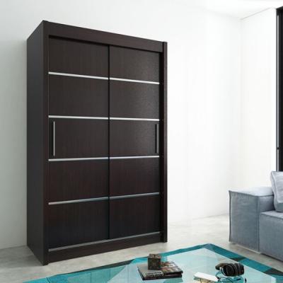 Levné Šatní skříně: Elegantn šatní skříň Enni 150 v barvě wenge