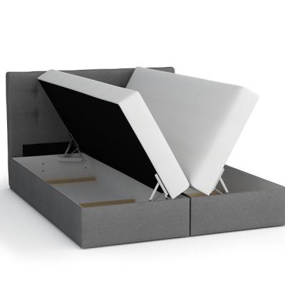 Levné Postele: Čalouněná postel s úložným prostorem SISI VI.