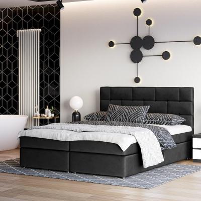 Levné Postele: Čalouněná postel s úložným prostorem WALL STREET IV