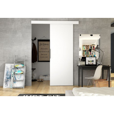 Levné Posuvné dveře: Posuvné dveře na stěnu ILAS I. bílé