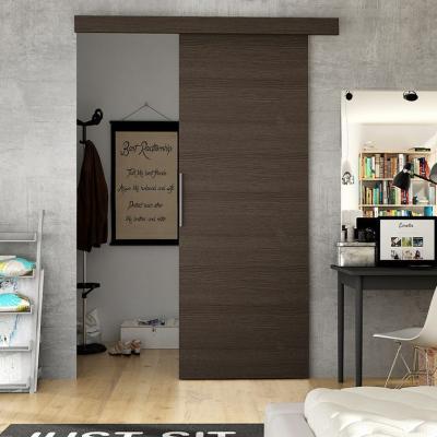 Levné Posuvné dveře: Interiérové posuvné dveře ILAS I. hnědé