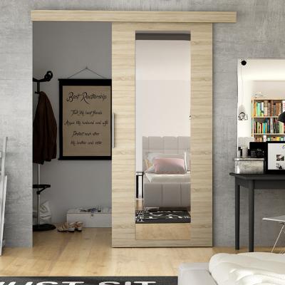 Levné Posuvné dveře: Posuvné dveře na stěnu ILAS IV. dub sonoma