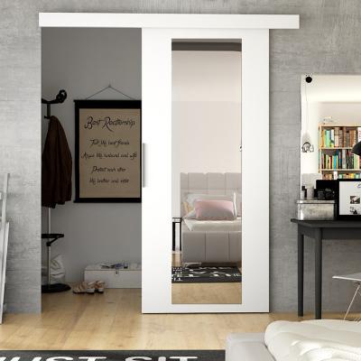 Levné Posuvné dveře: Posuvné dveře na stěnu ILAS IV. bílé