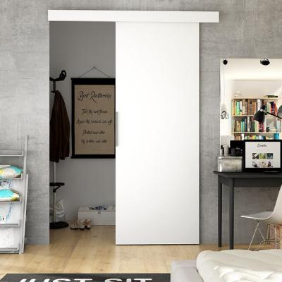 Levné Posuvné dveře: Posuvné dveře na stěnu ILAS I. bílé 90