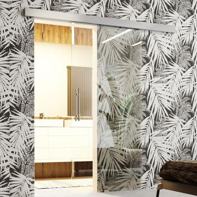 Levné Posuvné dveře: Skleněné interiérové posuvné dveře Livorno