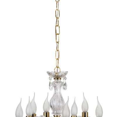 Levné Lustry na řetězu: Závěsný lustr na řetězu MICHELOTTO, zlatý