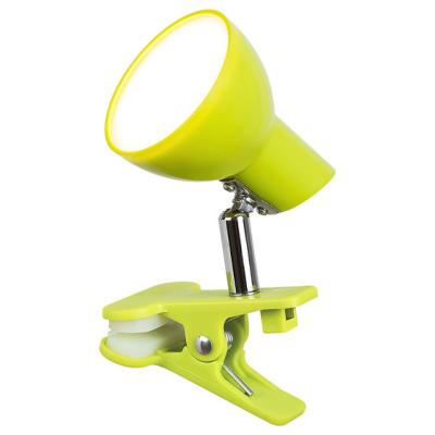 Levné Lampy a lampičky: Stolní LED lampička s klipem NOAH, zelená