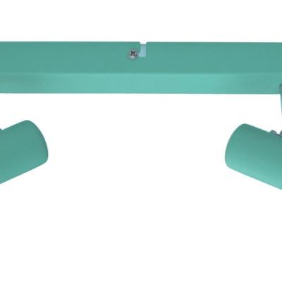 Levné Dětská nástěnná svítidla: Dětské bodové nástěnné / stropní svítidlo PANDULF, zelené