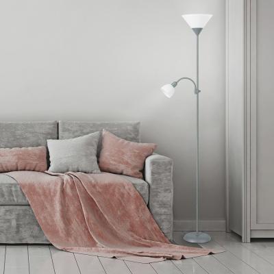 Levné Lampy a lampičky: Podlahová stojací lampa ACTION, šedá