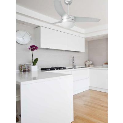Levné Ventilátory: Reverzní stropní ventilátor s osvětlením na dálkové ovládání FARO EASY, šedý