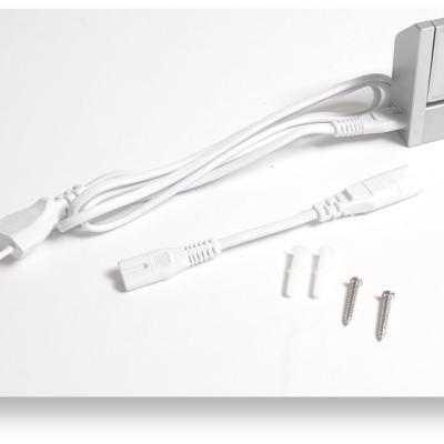 Levné LED zářivková svítidla: LED osvětlení pod kuchyňskou linku s vypínačem, 10W, šedé