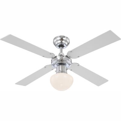Levné Ventilátory: Stropní ventilátor s funkcí letní a zimní chod s osvětlením CHAMPION