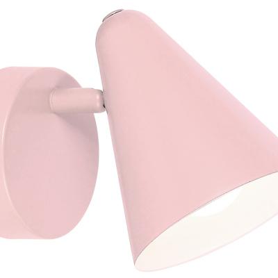 Levné Dětská nástěnná svítidla: Nástěnné bodové svítidlo do dětského pokoje AGOSTINO, růžové