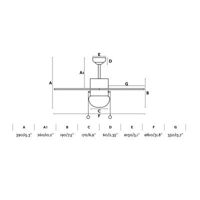 Levné Ventilátory: Dětský reverzní stropní ventilátor s osvětlením FARO PALAO