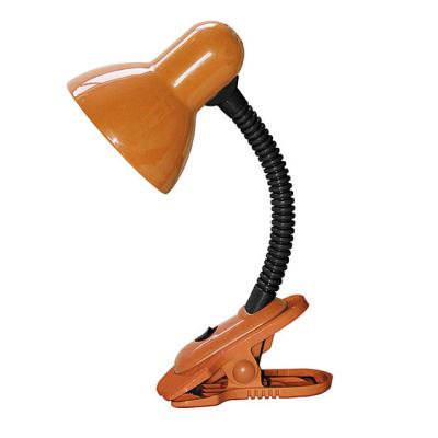 Levné Stolní lampy a lampičky: Dětská stolní lampa s klipem DENNIS, oranžová