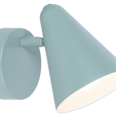Levné Dětská nástěnná svítidla: Nástěnné bodové svítidlo do dětského pokoje AGOSTINO, modré