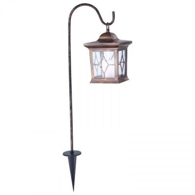 Levné Venkovní LED osvětlení: Venkovní solární LED lampa, patina