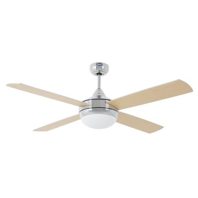 Levné Ventilátory: Reverzní stropní ventilátor na dálkové ovládání s osvětlením FARO ICARIA, šedý
