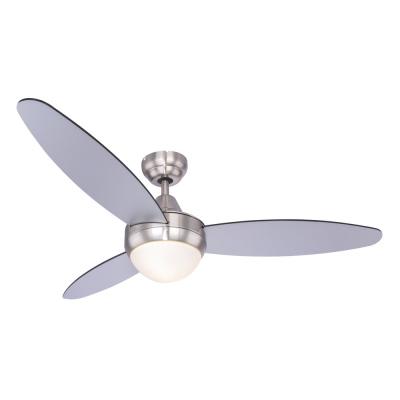 Levné Ventilátory: Stropní ventilátor na dálkové ovládání CORDULA, chrom