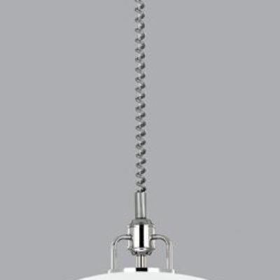 Levné Lustry a závěsná svítidla: Závěsný stahovací retro lustr na řetězu AMAYA