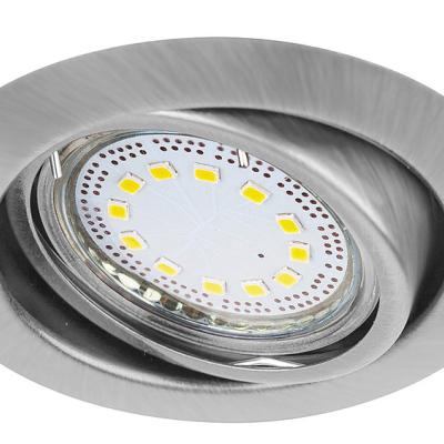Levné Stropní svítidla: Sada LED zápustných flexibilních světel LITE, 240lm, 3000K, satinované, kulaté