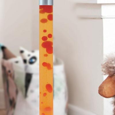 Levné Lampy a lampičky: Dekorativní lávová lampa DOVCE, červená