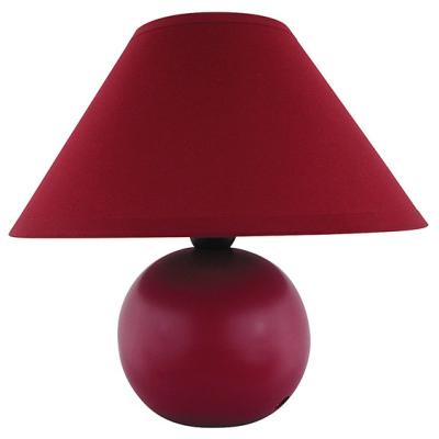 Levné Lampy a lampičky: Stolní lampa ARIEL, červená