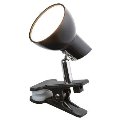 Levné Lampy a lampičky: Stolní LED lampička s klipem NOAH, černá