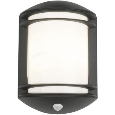 Levné Venkovní nástěnná svítidla: Venkovní nástěnné osvětlení se senzorem pohybu QUARTZ SENSOR , černé
