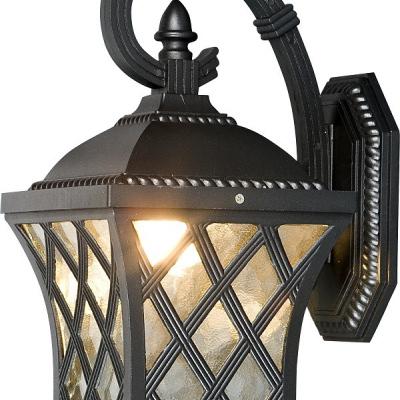 Levné Venkovní nástěnná svítidla: Venkovní nástěnné osvětlení TAY, černé