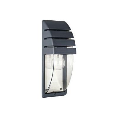 Levné Venkovní nástěnná svítidla: Venkovní nástěnné osvětlení MISTRAL, černé, 350mm