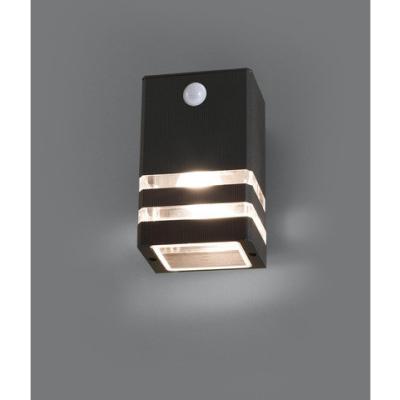 Levné Venkovní nástěnná svítidla: Venkovní nástěnné osvětlení se senzorem RIO SENSOR, černé