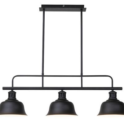 Levné Lustry nad jídelní stůl: Industriální osvětlení na tyči CAITLIN