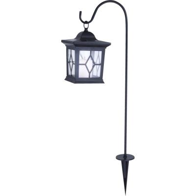 Levné Venkovní LED osvětlení: Venkovní solární LED lampa, černá