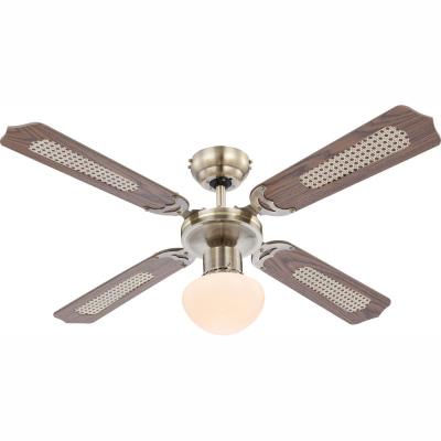 Levné Ventilátory: Stropní ventilátor s osvětlením CHAMPION