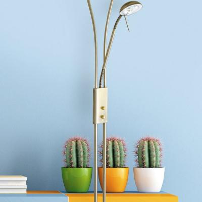 Levné Lampy a lampičky: Podlahová stojací lampa GAMMA, bronzová