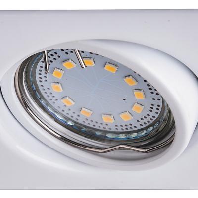 Levné Stropní svítidla: Sada LED zápustných flexibilních světel LITE, 240lm, 3000K, bílé, hranaté