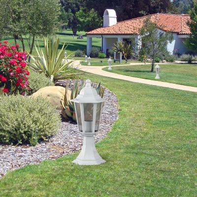Levné Venkovní lampy: Venkovní stojací / stolní lampa VELENCE, bílá, 40cm