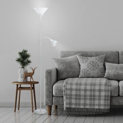Levné Lampy a lampičky: Podlahová stojací lampa ACTION, bílá