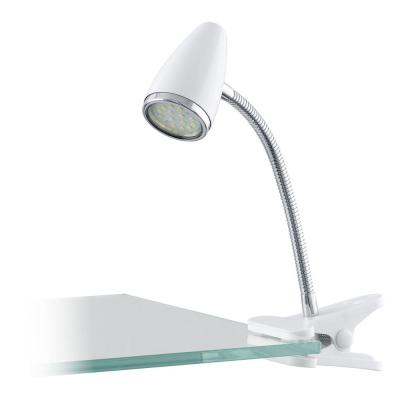 Levné Lampy a lampičky: LED lampa s klipem RICCIO, bílá