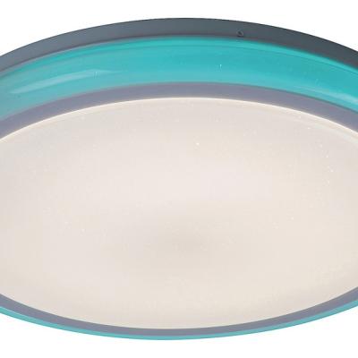 Levné Stropní svítidla: LED stropní přisazené svítidlo LEONIE, 32W, 3000K-6500K, RGB, 40cm, kulaté