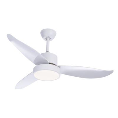Levné Ventilátory: Stropní ventilátor na dálkové ovládání s osvětlením RAMONA, bílý