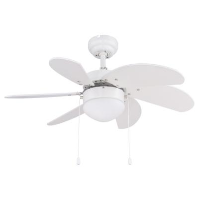 Levné Ventilátory: Stropní ventilátor s řetízkovým ovládáním RIVALDO, bílý