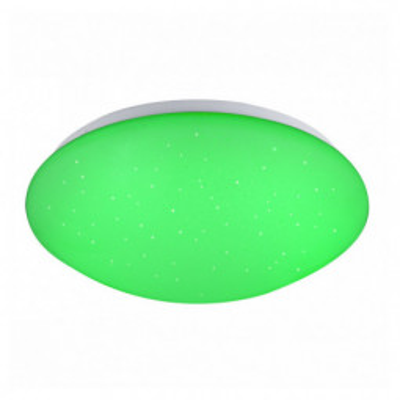 Levné Stropní svítidla: LED stropní osvětlení na dálkové ovládání ATREJU I, stmívatelné, RGB, 29cm, kulaté