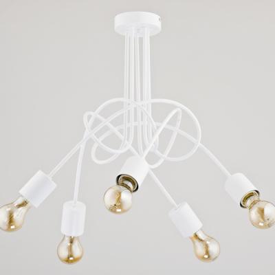 Levné Lustry a závěsná svítidla: Designový závěsný bodový lustr BERT