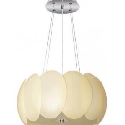 Levné Lustry a závěsná svítidla: Stropní závěsné osvětlení AURORA, 55cm, béžové