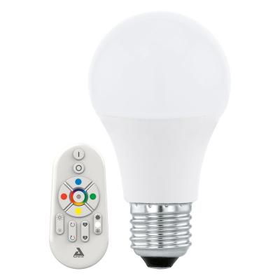Levné LED diodové žárovky: LED žárovka s ovladačem EGLO CONNECT, E27, 9W, RGBW
