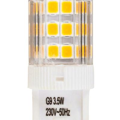 Levné LED diodové žárovky: LED žárovka, G9, 3,6W, teplá bílá