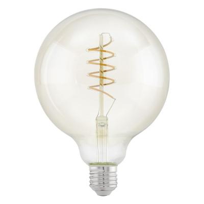 Levné LED diodové žárovky: Vintage LED žárovka EGLO, E27, 4W, teplá bílá